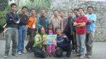 Bersama dengan tim IKJ di Samiran 2, pasca erupsi
