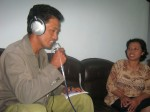 Diskusi dengan Bidan Sini, Melihat angka partisipasi KB di Desa Samiran